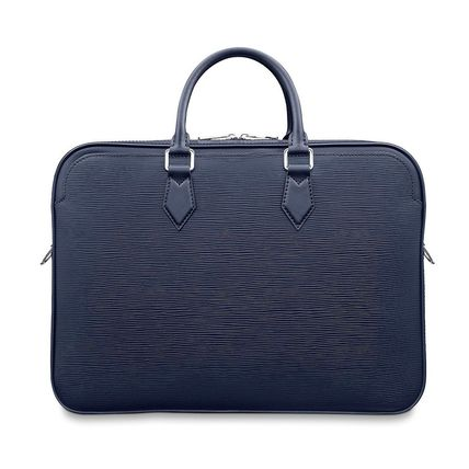 Louis Vuitton Business & Briefcases Blended Fabrics A4 2WAY Plain Leather Business & Briefcases 5