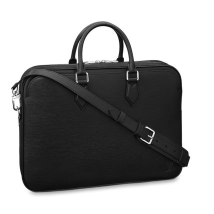 Louis Vuitton Business & Briefcases Blended Fabrics A4 2WAY Plain Leather Business & Briefcases 6
