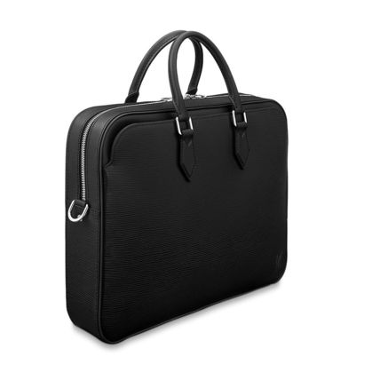 Louis Vuitton Business & Briefcases Blended Fabrics A4 2WAY Plain Leather Business & Briefcases 7