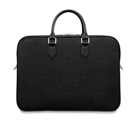 Louis Vuitton Business & Briefcases Blended Fabrics A4 2WAY Plain Leather Business & Briefcases 9