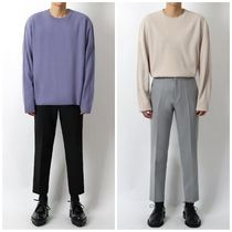 Long Sleeves Oversized Knits & Sweaters