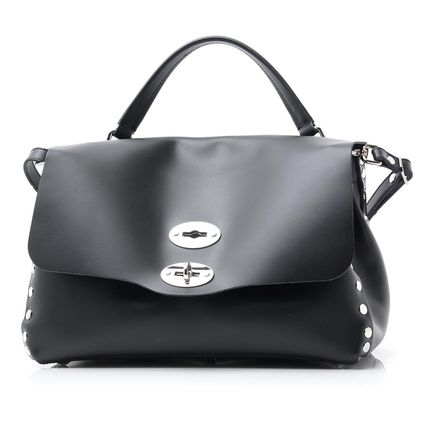 2WAY Leather Shoulder Bags