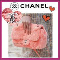 CHANEL ICON Casual Style 2WAY Plain Shoulder Bags
