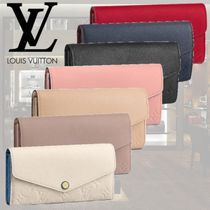 Louis Vuitton PORTEFEUILLE SARAH Long Wallets