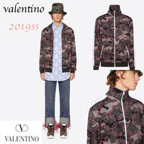 VALENTINO Street Style Long Sleeves Tops