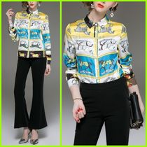 Chiffon Long Sleeves Other Animal Patterns Medium