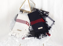 Burberry Other Check Patterns Wool Heavy Scarves & Shawls