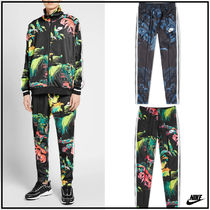 Nike Printed Pants Flower Patterns Tropical Patterns Unisex