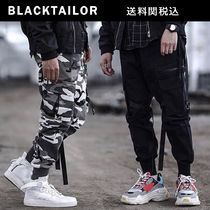 BLACKTAILOR Camouflage Street Style Plain Cargo Pants
