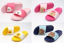 LINE FRIENDS Unisex Other Animal Patterns PVC Clothing Sandals