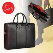 Christian Louboutin Plain Leather Business & Briefcases