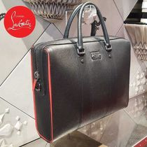 Christian Louboutin 2WAY Plain Leather Business & Briefcases