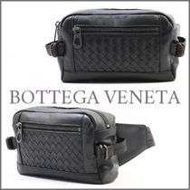 BOTTEGA VENETA Calfskin Plain Hip Packs