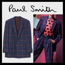 Paul Smith Other Check Patterns Wool Blazers Jackets