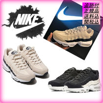 Nike AIR MAX 95 Casual Style Unisex Street Style Leather Low-Top Sneakers