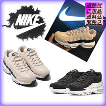 Nike AIR MAX 95 Unisex Street Style Leather Sneakers
