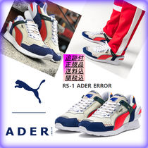 ADERERROR Unisex Street Style Leather Sneakers