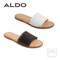 ALDO Open Toe Casual Style Plain Leather Oversized Sandals