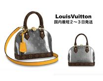 Louis Vuitton Monogram Tassel Leather Elegant Style Shoulder Bags
