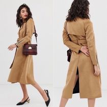 River Island Suede Elegant Style Trench Coats