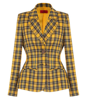 Other Plaid Patterns Casual Style Street Style Jackets