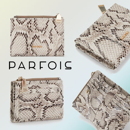 Faux Fur Python Card Holders