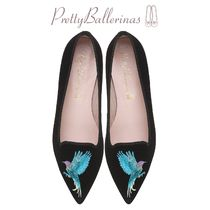 Pretty Ballerinas Suede Plain Other Animal Patterns Elegant Style