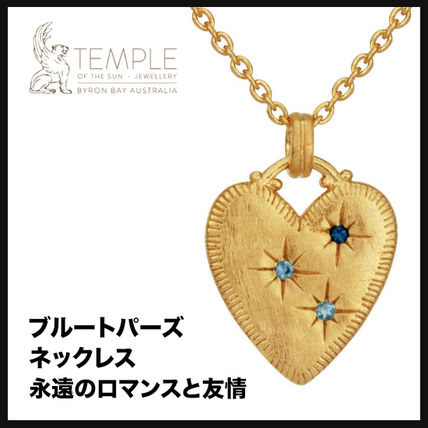 Casual Style Handmade 18K Gold Necklaces & Pendants