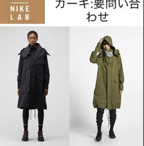 Nike Casual Style Street Style Plain Long Jackets