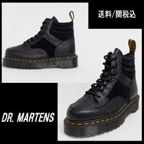 Dr Martens Lace-up Casual Style Plain Leather Lace-up Boots