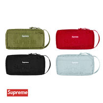 Supreme Unisex Nylon Street Style Pouches & Cosmetic Bags