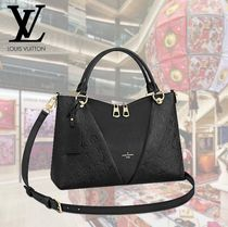 Louis Vuitton V 2WAY Leather Totes