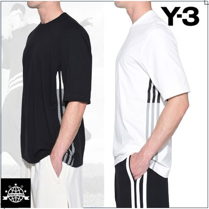 Y-3 More T-Shirts Street Style Plain Cotton Short Sleeves T-Shirts 12
