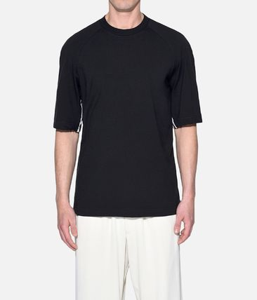 Y-3 More T-Shirts Street Style Plain Cotton Short Sleeves T-Shirts 3