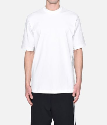 Y-3 More T-Shirts Street Style Plain Cotton Short Sleeves T-Shirts 8