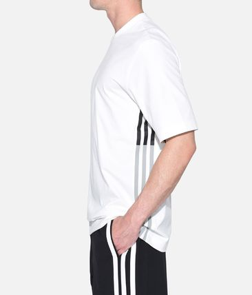 Y-3 More T-Shirts Street Style Plain Cotton Short Sleeves T-Shirts 10