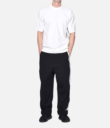Y-3 More T-Shirts Street Style Plain Cotton Short Sleeves T-Shirts 11