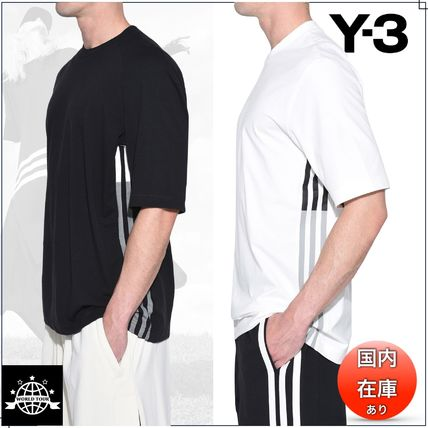 Y-3 More T-Shirts Street Style Plain Cotton Short Sleeves T-Shirts