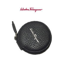 Salvatore Ferragamo Leather Coin Cases