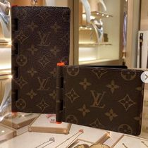 Louis Vuitton MONOGRAM Monogram Canvas Blended Fabrics Street Style Bi-color