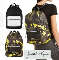 Kendall + Kylie Camouflage Casual Style Collaboration A4 PVC Clothing Totes