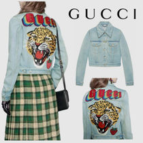 GUCCI Casual Style Blended Fabrics Jackets