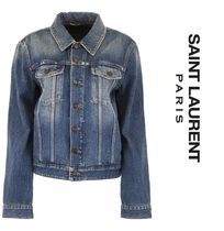 Saint Laurent Casual Style Denim Jackets