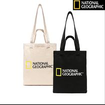 NATIONAL GEOGRAPHIC Unisex Street Style Bi-color Totes