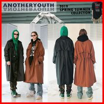 ANOTHERYOUTH Unisex Street Style Trench Coats