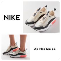 Nike AIR MAX Plain Toe Casual Style Street Style Low-Top Sneakers