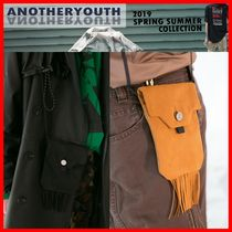 ANOTHERYOUTH Casual Style Unisex Street Style Shoulder Bags