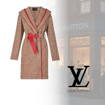 Louis Vuitton Casual Style Wool Blended Fabrics Plain Coats