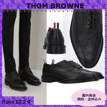 THOM BROWNE Wing Tip Monk Loafers & Slip-ons