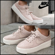 Nike AIR FORCE 1 Platform Casual Style Unisex Street Style Oversized